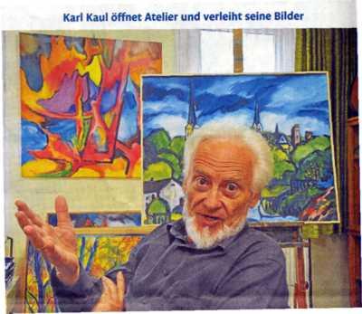 Offenes Atelier 2013 Karl Kaul