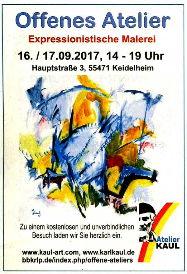 Offenes Atelier 2017