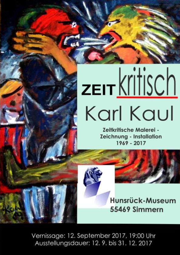 Ausstellung ZEITkritisch