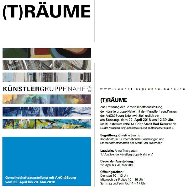 Ausstellung TRäume der Künstlergruppe Nahe