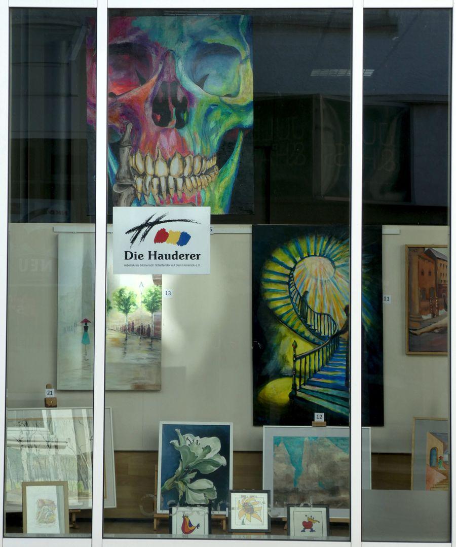 Schaufensterausstellung DIE HAUDERER