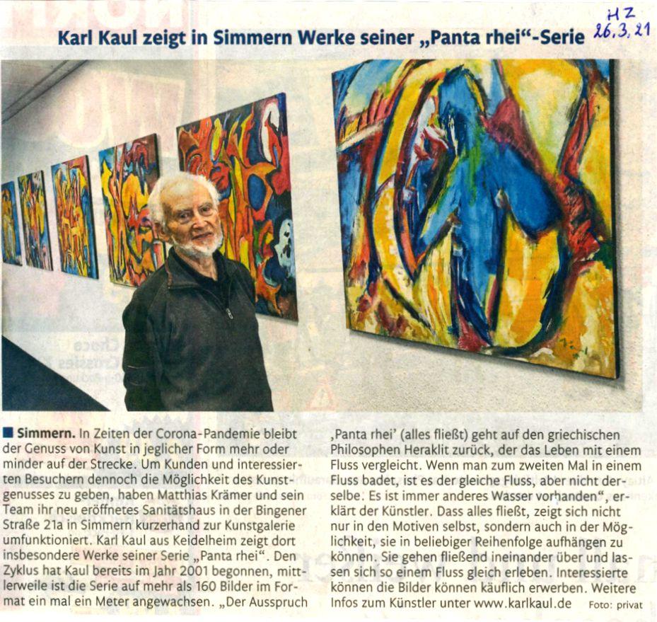Ausstellung Karl Kaul